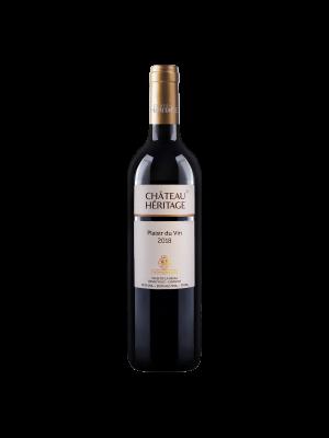 Château Héritage Plaisir du Vin 750ml 2018